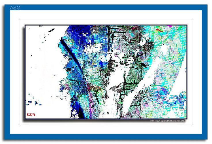 Work № 394 - Изобразительное искусство - Масло, акрил