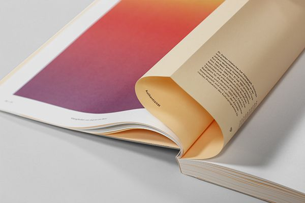 Eins und Alles — Einblicke in Identität on Editorial Design Served #edition #fabrication #binding