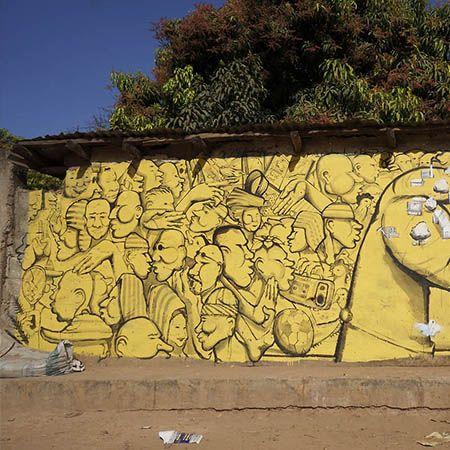Le street-art de Run !