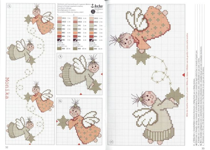 Cross-stitch Cute Angels Tablecloth...   Gallery.ru / Фото #134 - rico1 - vira-pagut