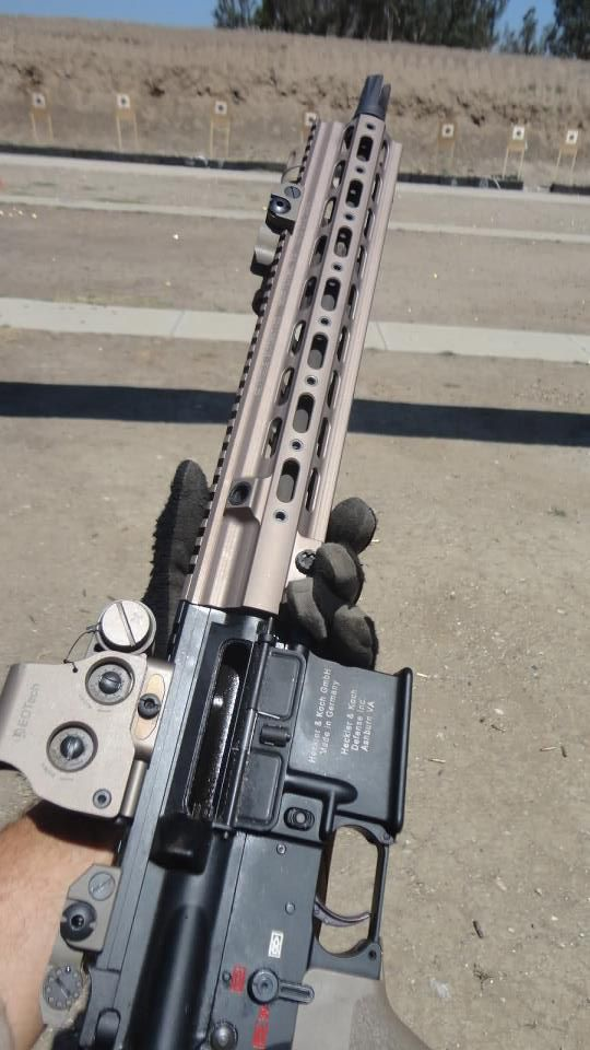 At The Range Hotac Hk 416 And Geissele Hk Smr Rail