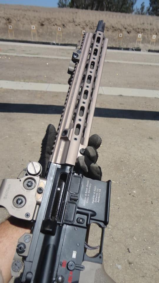 At The Range Hotac Hk 416 And Geissele Hk Smr Rail