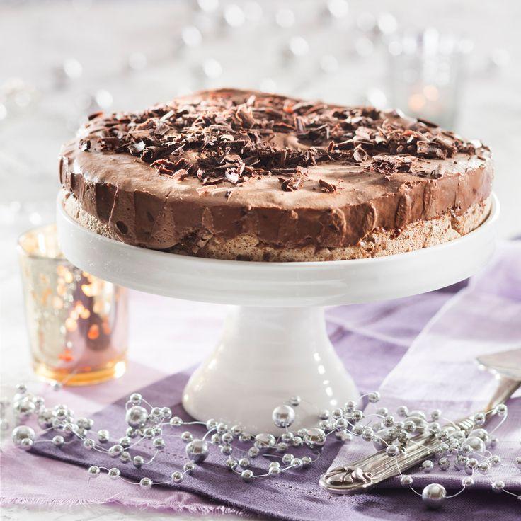 Jäädytetty suklaamoussekakku | K-ruoka #joulu