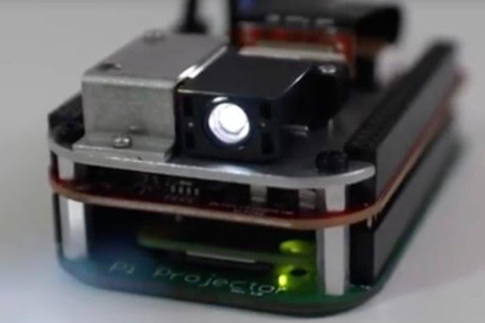DIY Raspberry Pi Pocket Projector Projekt – Geeky Geräte – Geeky Geräte
