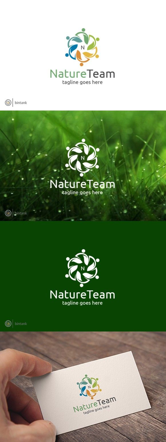 214 best yoga business card design images on pinterest business nature team logo business card designbusiness reheart Image collections