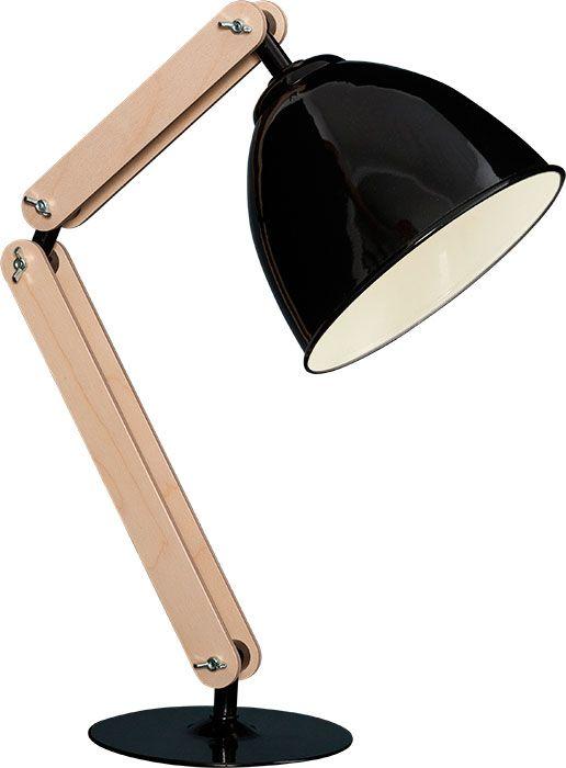 lampa biurkowa Sigma KOBE I lampka stołowa drewno (4937749074) - Allegro.pl - Więcej niż aukcje.