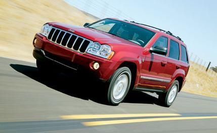2007 Jeep Grand Cherokee Limited 4WD 5.7L