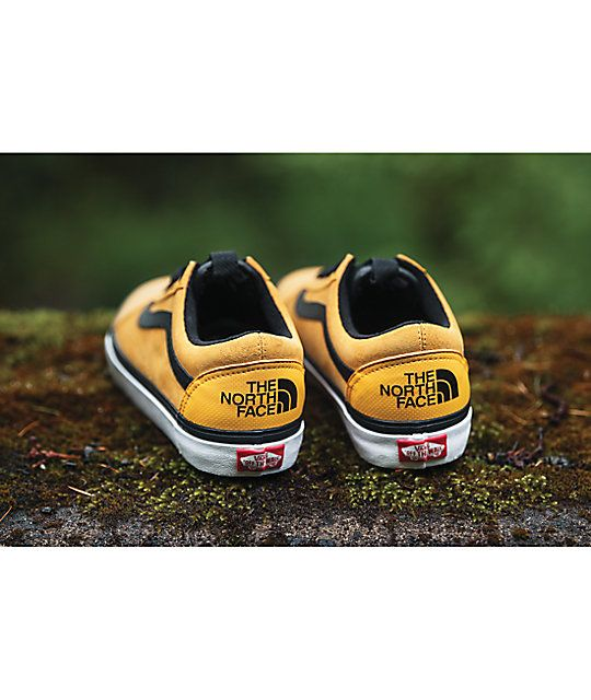 vans x north face schoenen