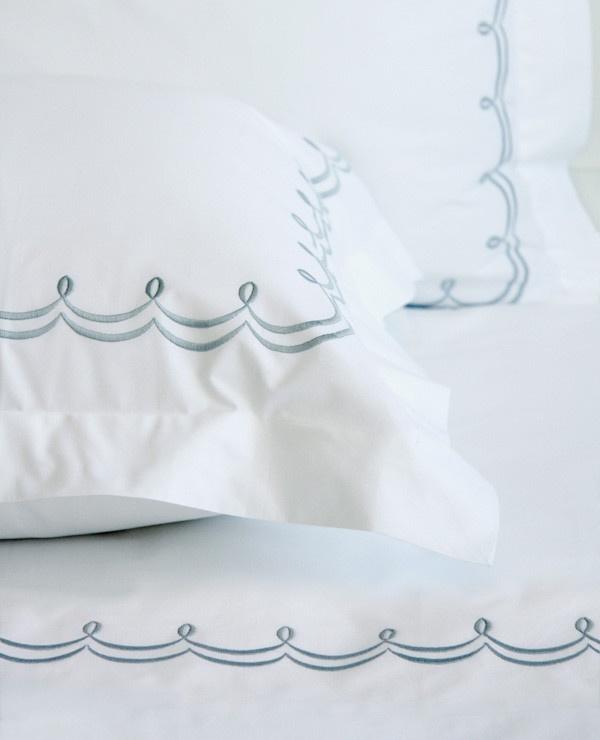 Au Lit Fine Linens — Perla Embroidery