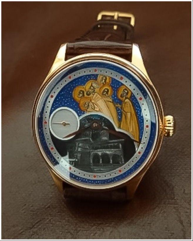 Ceasuri de lux by Augustin Designer de ceasuri de mana personslizate. Biserica Sfintii Martiri Brancoveni