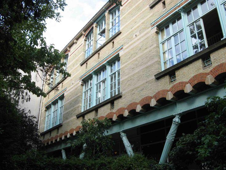 L'école du Sacré-Cœur, 9 avenue de La Frillière 16e
