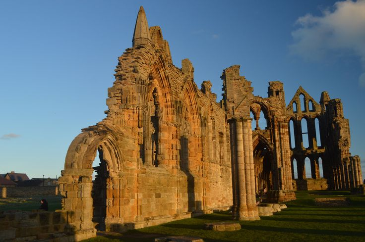 All sizes | Whitby Abbey on a Sunny (Winters) Afternoon | Flickr - Photo Sharing!