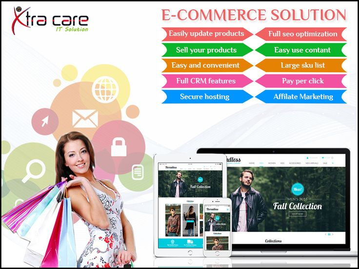 #Ecommerce #Solutions - At #Xtracare #IT #Solutions, we launch custom #Magento #eCommerce stores online. Web #development services and solutions, theme customization. Please Visit the Site: www.xtracareit.com/pages/-Ecommerce-Development-