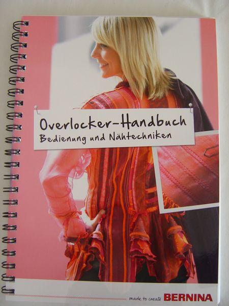 Buch Overlock BERNINA Overlocker Handbuch NEU von Textilkreativhof auf DaWanda.com