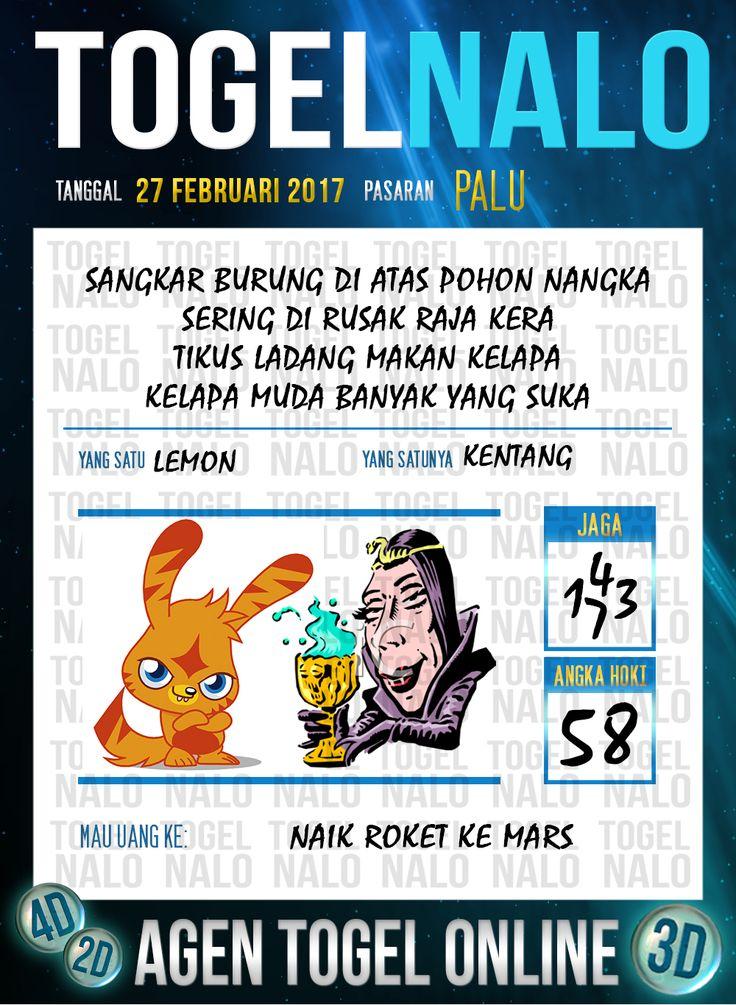 Lotre Taysen 4D Togel Wap Online Live Draw 4D TogelNalo Palu 27 Februari 2017