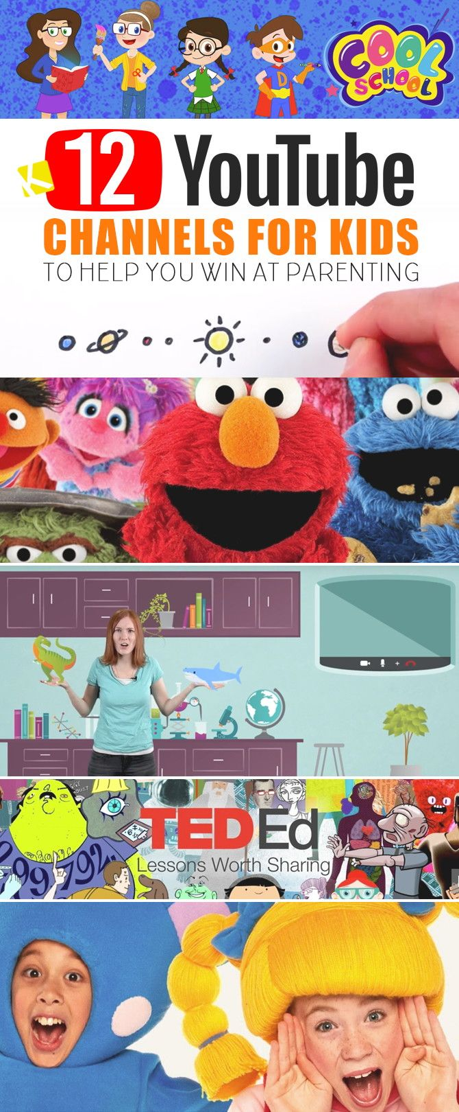 12 Best YouTube Channels for Kids That Will Help You Win at Parenting - The Krazy Coupon Lady