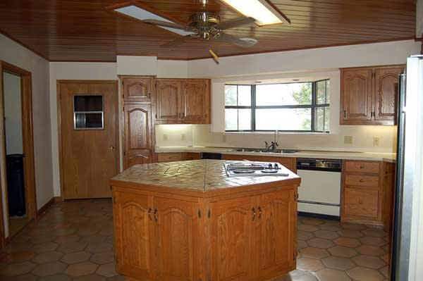 Mobile Home Kitchen With Octagon Island Town Country