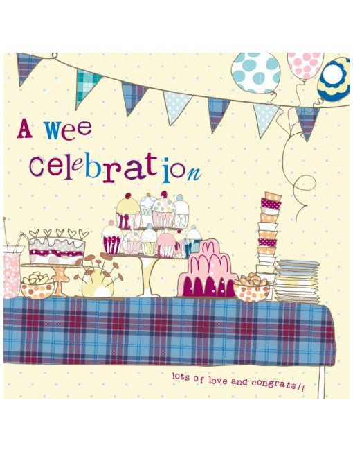 Wee Celebration Card