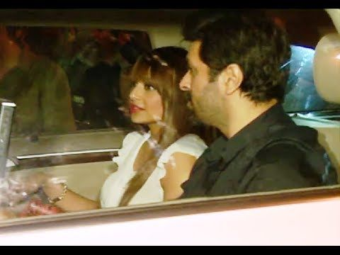 Bipasha Basu with boyfriend Harman Baweja at Karan Johar's 42nd Birthday Party.