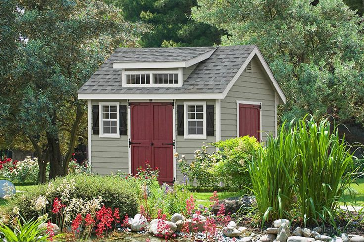Premier Garden Storage Sheds from Lancaster, PA. Fancy sheds and barns that will add beauty to your property. Buy garden storage sheds direct from the Amish