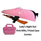 Cheap Explorer Lady's Night Out - Pink Pistol  Rifle Case Combo deals week