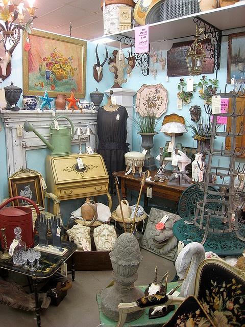 Fabulous flea market display