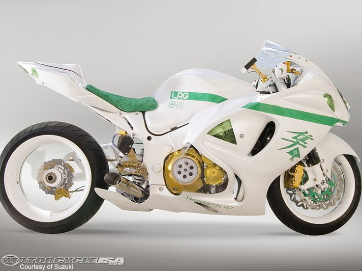 Back in 2007, LRG combined forces with Suzuki to produce this one of a kind Hayabusa GSX 1300R