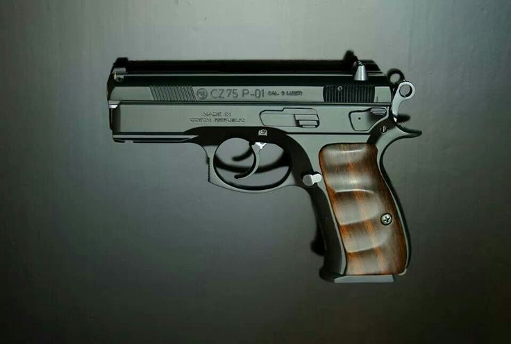 CZ 75 P01. Sexy with those grips, albeit not as fictional I suppose
