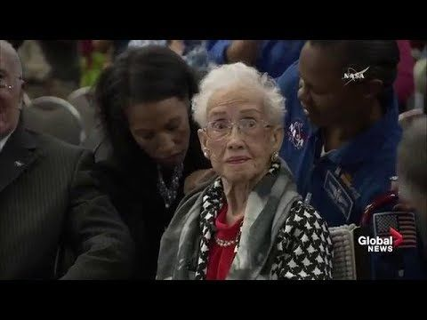 "NASA honours Katherine Johnson with new building named after ""Hidden Figures"" legend - YouTube"