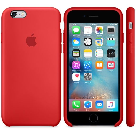 iPhone 6s Silicone Case - PRODUCT(RED)