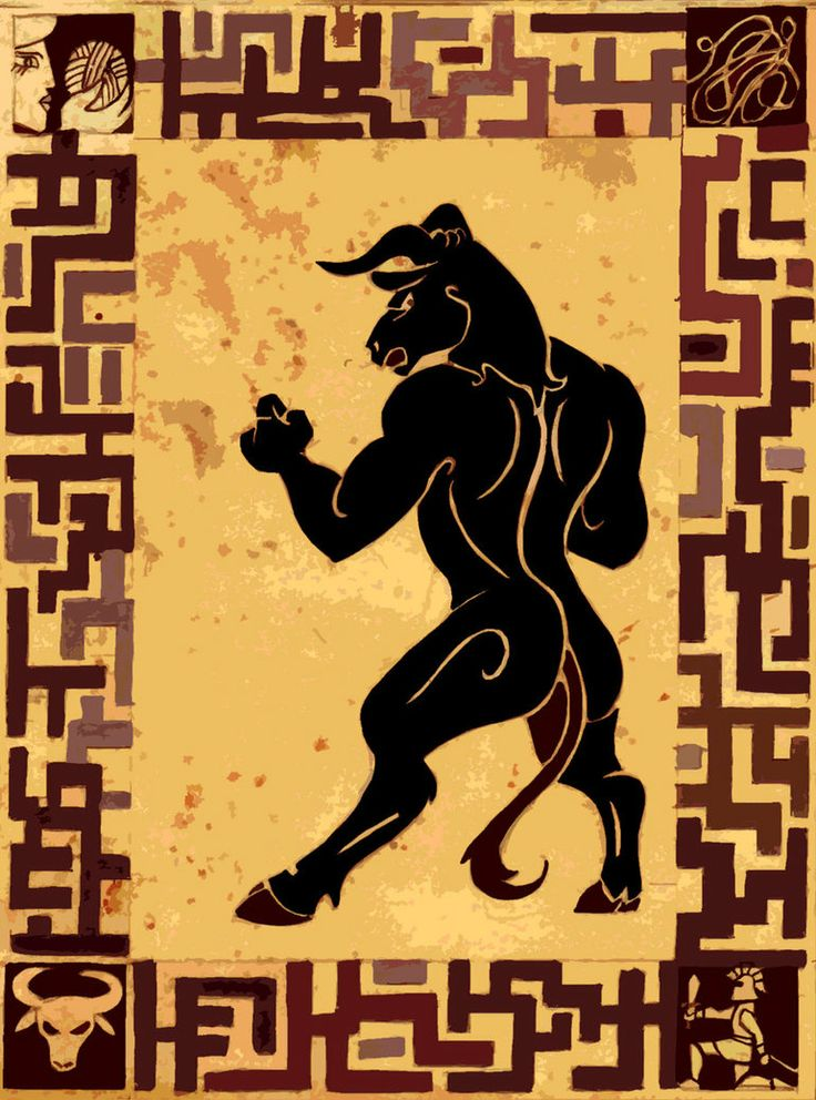 The Minotaur of the Labyrinth