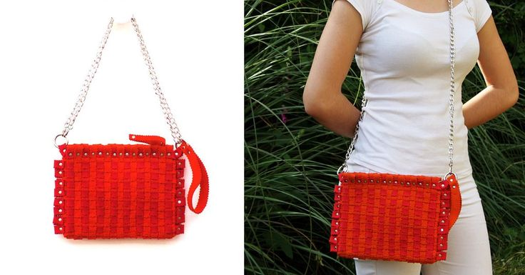 Fashion accessories in felt.  For your summer, in the colour orange.  Visit our site: feltrando.com