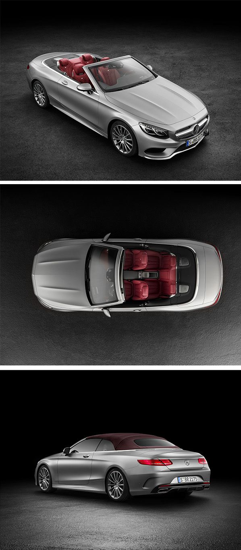 Distinctive. Sensual. Exclusive. The Mercedes-Benz S-Class Cabriolet.