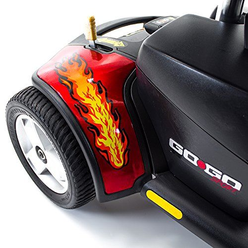 89 best folding mobility scooter images on pinterest electric red flame stickers decal for pride mobility gogo travel scooter click image for fandeluxe Choice Image