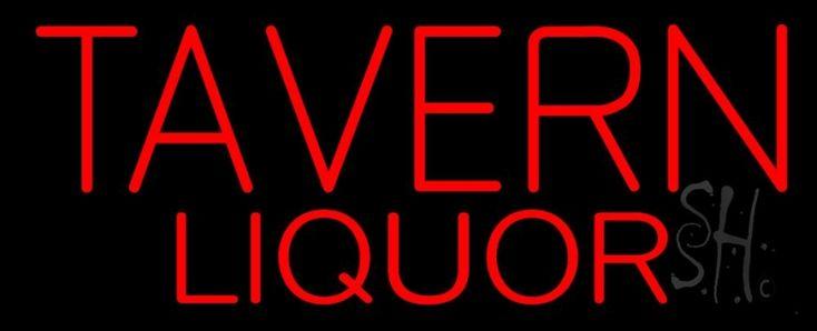 Tavern Liquor Neon Sign