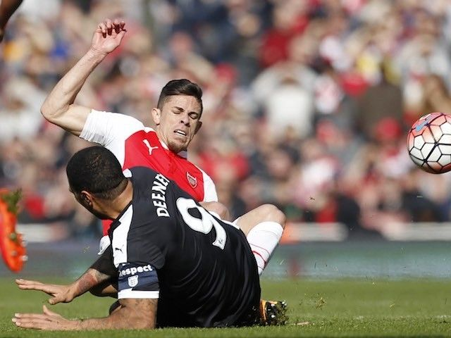 "Troy Deeney ""unhappy"" with rash Gabriel Paulista challenge"