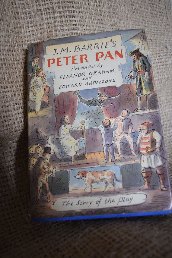 JM Barrie's Peter Pan. E Graham and E Ardizzone. by BookBugs