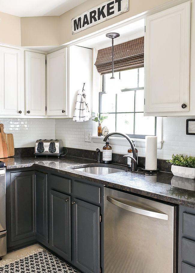 Simple And Neutral Fall Home Tour 2018 Farmhouse Style Kitchen Kitchen Remodel Kitchen Design