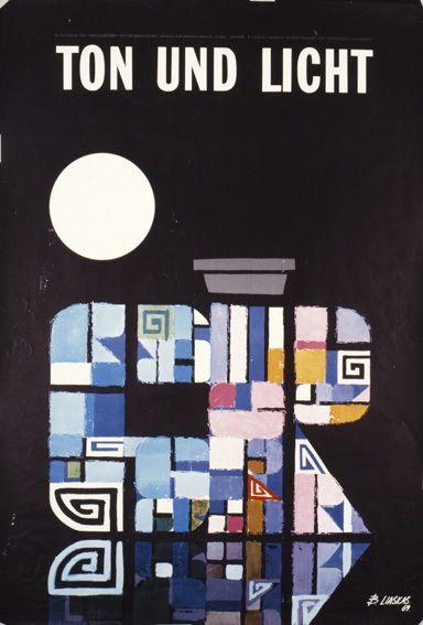 TON UND LICHT 1960. Σχεδιαστής σύνθεσης ο Β. Λιάσκας για τον ΕΟΤ.