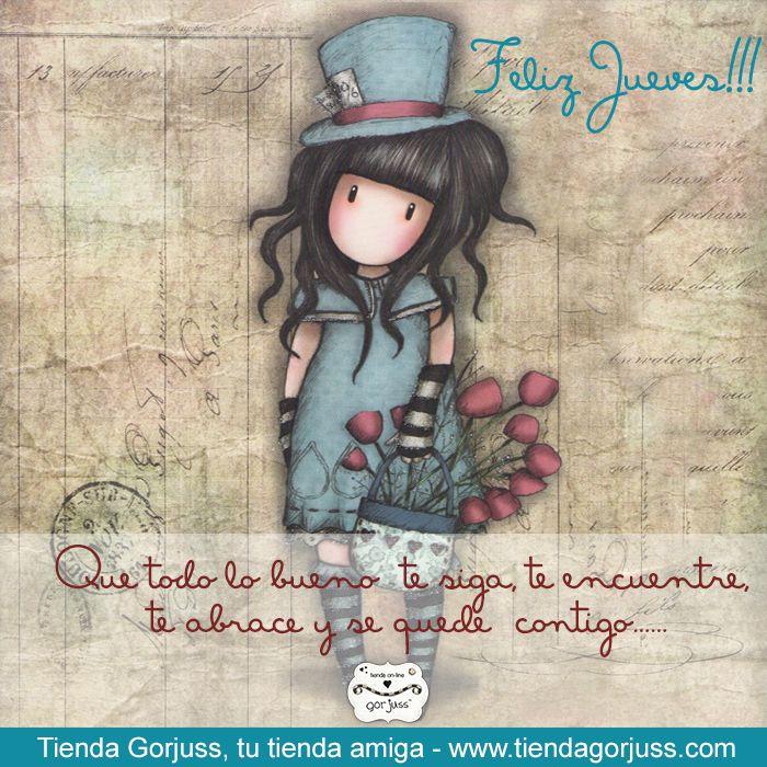 Que todo lo bueno te siga, te encuentre, te abrace y se quede  contigo...... Feliz Jueves!!!  #FelizJueves #TiendaGorjuss #Gorjuss #SantoroLondon