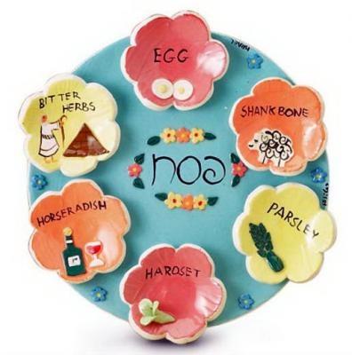Very cute seder plate, great for kids.