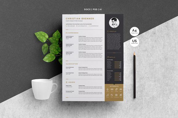 Resume/CV Template @creativework247