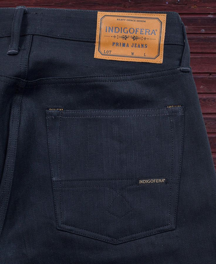 New Fit! Buck, Indigofera Jeans. (made in portugal, gunpowder, denim, selvage, wear well)