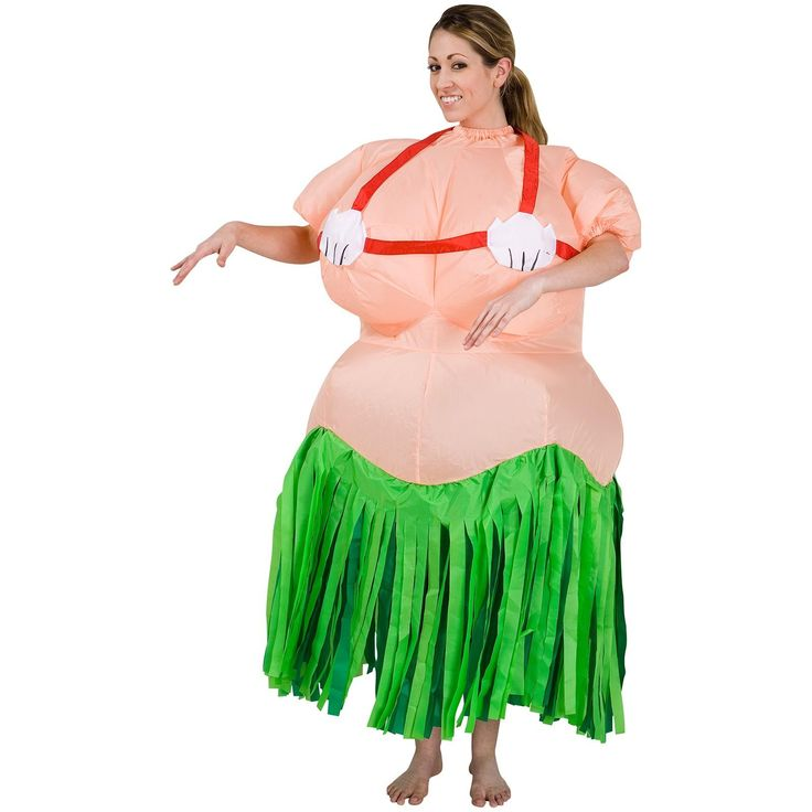 The 25 best hula girl costume ideas on pinterest hawaiian girl inflatable hula girl adult costume solutioingenieria Gallery