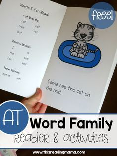 Learn to Read AT Word Family Reader