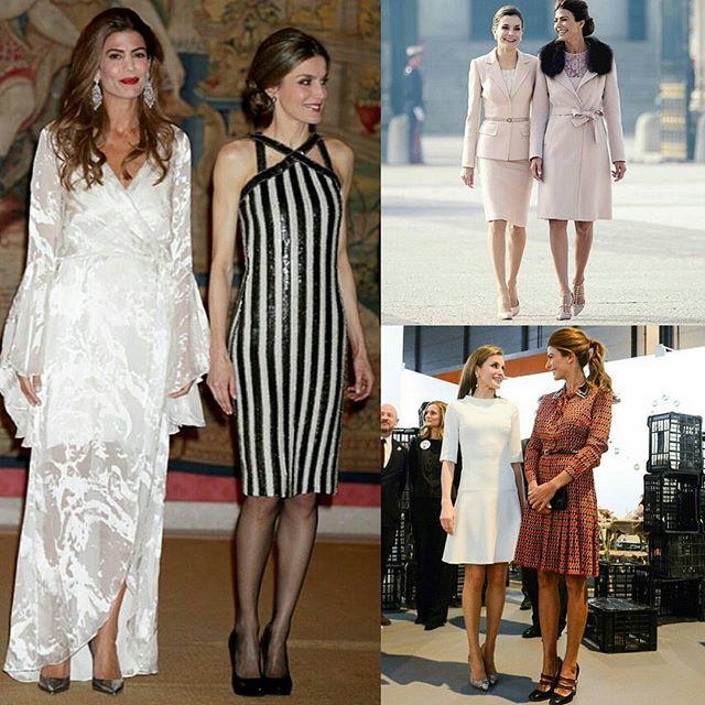 DUELO DE ESTILOS. Los looks de Juliana Awada y la Reina Letizia de España. #GenteOnLine #JulianaAwada #LetiziaOrtiz #InstaLook #Fashion #Trend #GenteVerano2017