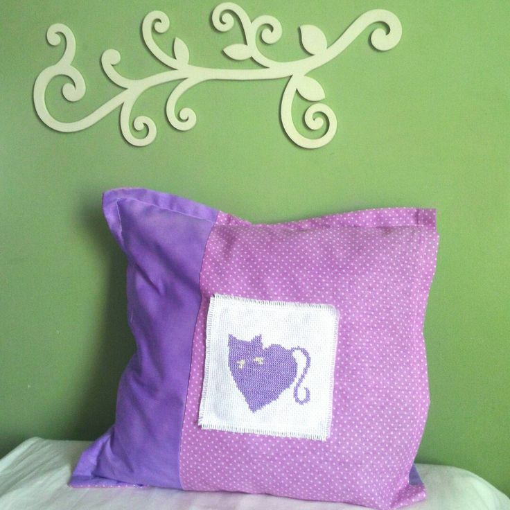 Give yourself some cat love... #crossstitch #pattern CatHeart from the #ThreadingSew  #etsyshop http://etsy.me/1qlKAXU   #cat #xstitch #aida14ct #dmcthreads #heart #embroidery #needlework #crafts #arts #handmade