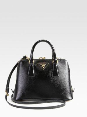 435fc396 Prada - Saffiano Vernice Small Promenade Bag - Saks.com ...