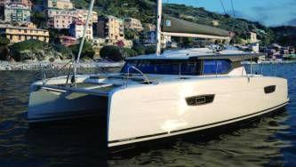 New 42 Fountaine Pajot sailing catamaran  - exterior
