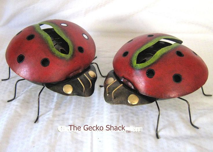 Lady Bug Mosquito/Mozzie Coil Holder dome shaped patio deck Home Garden BBQ - entertaining